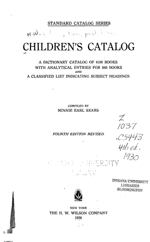 Children s Catalog PDF
