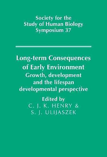 Long term Consequences of Early Environment PDF