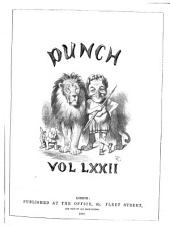 Punch: Volumes 72-73