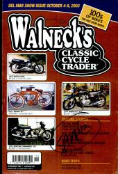 WALNECK'S CLASSIC CYCLE TRADER, NOVEMBER 2003