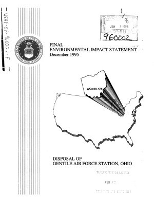 Gentile Air Force Station  AFS   Disposal and Reuse  Montgomery County PDF