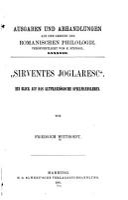 Sirventes joglaresc   PDF