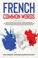 French Common Words PDF