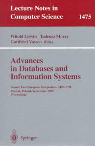 Advances in Databases and Information Systems PDF