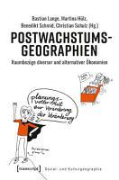 Postwachstumsgeographien PDF