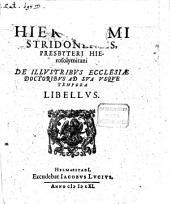 Libellus de illustribus Ecclesiae doctoribus ad sua usque tempora