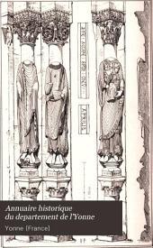Annuaire historique du departement de l'Yonne: Volume14