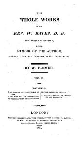 The Whole Works of the Rev. W. Bates: Volume 2