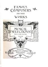 Famous Composers and Their Works: Volume 12