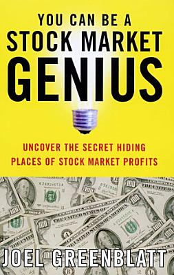 You Can Be a Stock Market Genius PDF