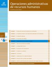 Desarrollo de la prestación laboral (Operaciones administrativas de recursos humanos)