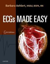 Pocket Guide for ECGs Made Easy - E-Book: Edition 6