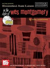 Essential Jazz Lines: In the Style of Wes Montgomery - Guitar Edition