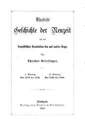 Illustrirte Geschichte der Neuzeit von der französischen Revolution bis auf unsere Tage: Von 1866 bis 1869, Band 2