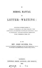 A school manual of letter-writing
