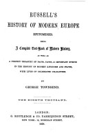 Russell s History of Modern Europe Epitomised PDF
