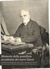 Memorie della Pontificia accademia dei Nuovi Lincei: Volumi 16-17