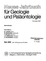Neues Jahrbuch für Geologie und Paläontologie