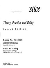 Criminal Justice in America PDF
