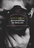 Autofiction in English PDF