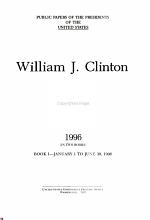 William J  Clinton  1996 bk  1 January 1 to June 30  1996 PDF