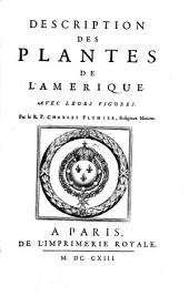 Description des plantes de l'Amerique