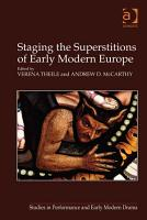 Staging the Superstitions of Early Modern Europe PDF