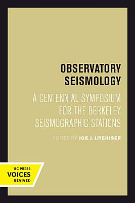 Observatory Seismology