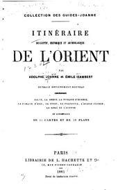 Itinéraire descriptif, historique et archéologique de l'Orient