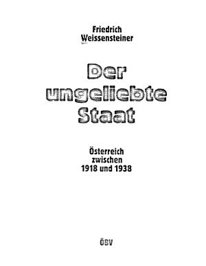 Der ungeliebte Staat PDF