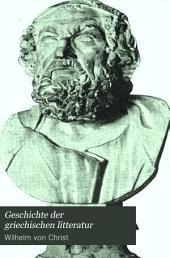 Geschichte der griechischen litteratur: bis auf die zeit Justinians, Band 7