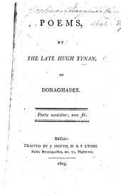 Poems, by the late Hugh Tynan, of Donaghadee