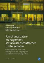 Forschungsdatenmanagement sozialwissenschaftlicher Umfragedaten PDF