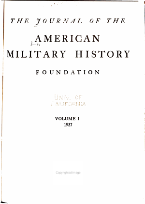 The Journal of the American Military History Foundation PDF