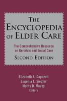 The Encyclopedia of Elder Care PDF