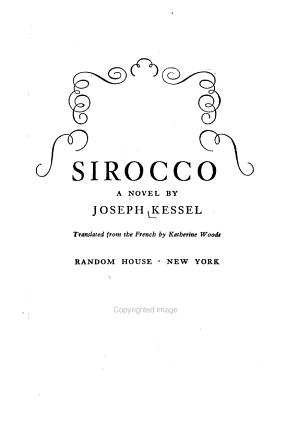 Sirocco PDF