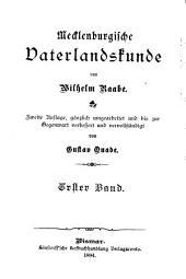 Mecklenburgische vaterlandskunde: Specielle ortskunde beider grossherzogthümer Mecklenburg