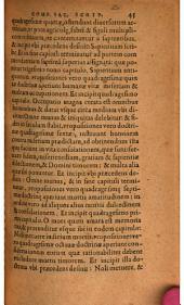 Petri Aureoli Compendiosa in universam Sacram Scripturam commentaria