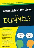 Transaktionsanalyse f  r Dummies PDF