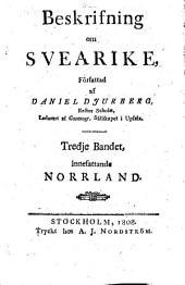 Beskrifning om Svearike: Norrland, Volym 3