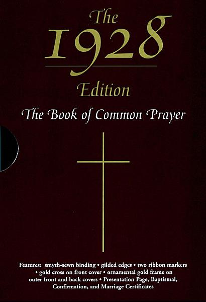 Download The 1928 Book of Common Prayer Book