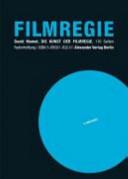 Die Kunst der Filmregie PDF