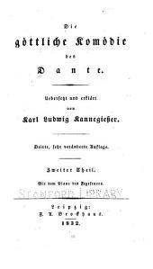 Die göttliche Komödie des Dante: Band 2