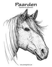 Paarden Kleurboek voor Volwassenen 1