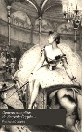 Oeuvres complètes de François Coppée: Volume3