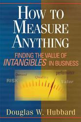 How To Measure Anything Book PDF