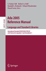 Ada 2005 Reference Manual. Language and Standard Libraries