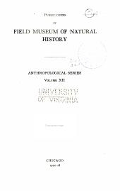 Anthropological series: Volume 12