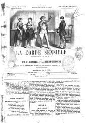 La corde sensible vaudeville en un acte par MM. Clairville et Lambert-Thiboust