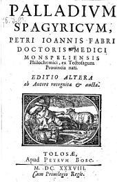 Palladium Spagyricum (etc.)